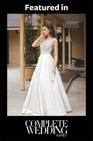 melanie ford bridal couture complete wedding097 - Wedding Dress Designers List